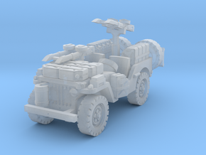 SAS Jeep scale 1/144 in Smoothest Fine Detail Plastic