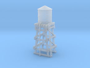 Water Tower in Smooth Fine Detail Plastic: 1:220 - Z