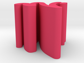 Graffiti in Pink Processed Versatile Plastic