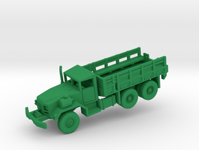 M813A1 Truck w/Winch in Green Processed Versatile Plastic: 1:144
