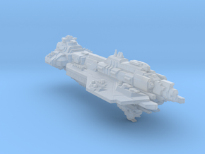 UNSC battlecruiser Hope`s defiance(custom) in Smooth Fine Detail Plastic