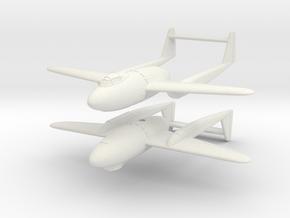 1/200 Mitsubishi J4M2 Senden (x2) in White Natural Versatile Plastic