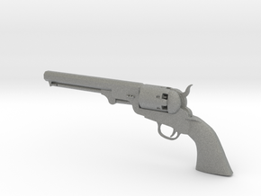 Colt 1851 1/9 scale  in Gray Professional Plastic