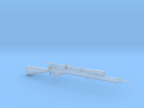 1/9 Scale Enfield Rifle  in Smooth Fine Detail Plastic