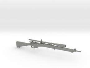 1/9 Scale Enfield Rifle  in Gray Professional Plastic