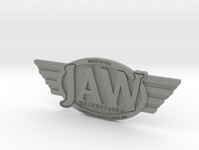 JAW Motorcycles Emblem  in Gray PA12