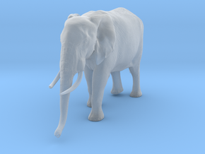 African Bush Elephant 1:20 Walking Female in Smooth Fine Detail Plastic