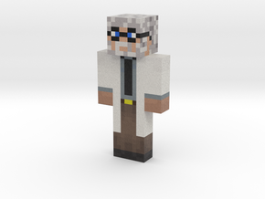 DeltaWhy | Minecraft toy in Natural Full Color Sandstone