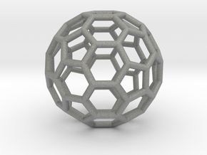 Fullerene-42 in Gray Professional Plastic: Extra Small