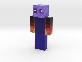 Sousmooster | Minecraft toy in Natural Full Color Sandstone