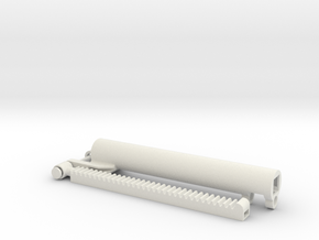 gearrack actuator v3.1 Stroke 11 studs in White Natural Versatile Plastic