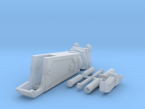 1:64 Third Member Shear for 20 ton excavators.  in Smooth Fine Detail Plastic