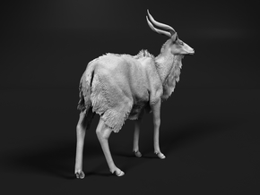 Nyala 1:35 Standing Male in Smooth Fine Detail Plastic
