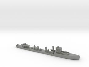 HMS Vega 1:3000 r2 WW2 naval destroyer in Gray PA12