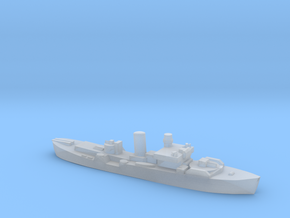 Flower Class corvette 1:3000 GBR WW2 naval r2 in Smoothest Fine Detail Plastic