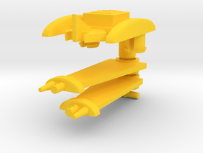 Acrohawk Changer in Yellow Processed Versatile Plastic