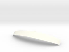 Visor-B61 in White Processed Versatile Plastic