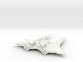 The Draco in White Natural Versatile Plastic
