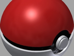 PokeBall in White Natural Versatile Plastic
