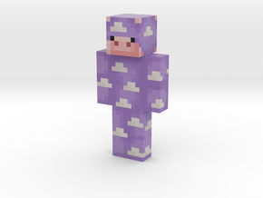 Watermelonelyyy | Minecraft toy in Natural Full Color Sandstone