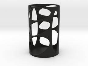 Pen Holder 0 in Black Natural Versatile Plastic