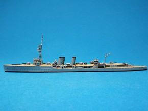 HMS Caledon Light Cruiser 1917 1/1250 in Smoothest Fine Detail Plastic