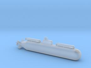 1/700 Scale Italian Submarine DG-450 in Smooth Fine Detail Plastic