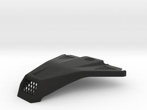 Lasernut Replica Hood for UCFab in Black Natural Versatile Plastic