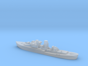 Flower Class corvette 1:1200 GBR WW2 naval in Smoothest Fine Detail Plastic