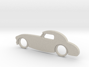 Classic Car Necklace-55 in Natural Sandstone