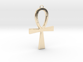 Ankh-2 in 14K Yellow Gold
