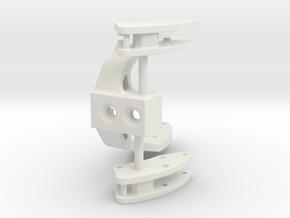 John Deere 7430 Frontlader Konsole in White Natural Versatile Plastic