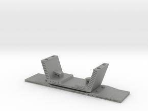 HO/1:87 Precast concrete bridge segment kit (small in Gray PA12