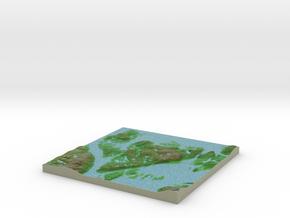Terrafab generated model Thu Jan 17 2019 05:29:24  in Natural Full Color Sandstone