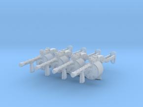 4x 1/24th DAO12gun in Smoothest Fine Detail Plastic
