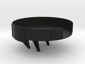 1/96 scale CVE Rear Gun Tub in Black Natural Versatile Plastic