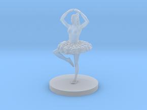 Female Ballerina in Smooth Fine Detail Plastic