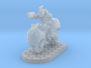 Dawnrider 28mm Scale Miniature in Smooth Fine Detail Plastic
