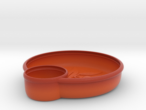 Olives Dish in Matte Full Color Sandstone