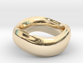 Ima Wave Ring in 14K Yellow Gold: 7 / 54