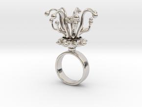 Brata - Bjou Designs in Rhodium Plated Brass