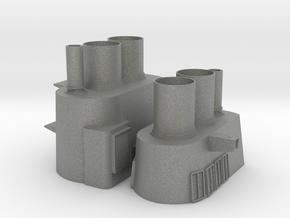 1/96 scale Tico Stacks in Gray Professional Plastic