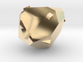 Adamantite Ore in 14K Yellow Gold