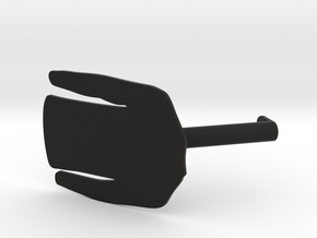 Long Sleeve T-Shirt Wardrobe Display Identifier in Black Natural Versatile Plastic