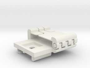 DJi Inspire 1 Bottom Mount in White Natural Versatile Plastic