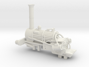 00 Scale Rebuilt Rocket Loco Scratch Aid in White Natural Versatile Plastic