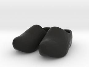THM 00.0050 Klompen in Black Natural Versatile Plastic