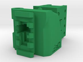 TeleScopix Folding Stock Adapter (Medium Kit) in Green Processed Versatile Plastic