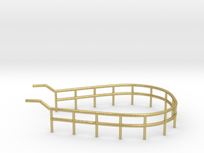1/72 U-Boot U-441 Railing 3 for Conning Tower in Natural Brass
