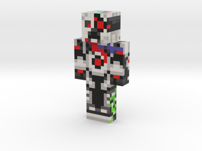 robot (1) | Minecraft toy in Natural Full Color Sandstone
